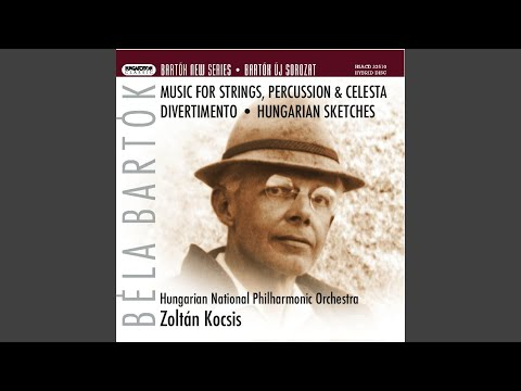 Hungarian Sketches for orchestra: I. Evening in Transylvania