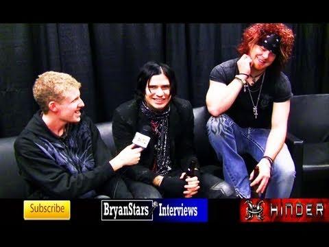 Hinder Interview Austin Winkler & Cody Hanson 2009