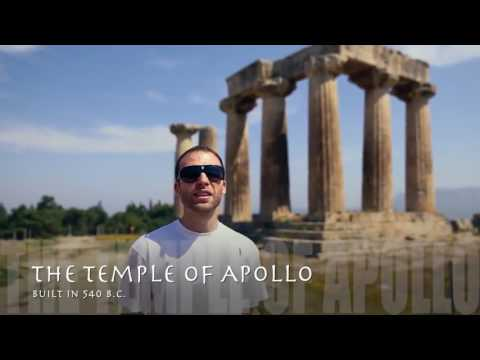 Travel Guide Ancient Corinth Peloponnese, Greece