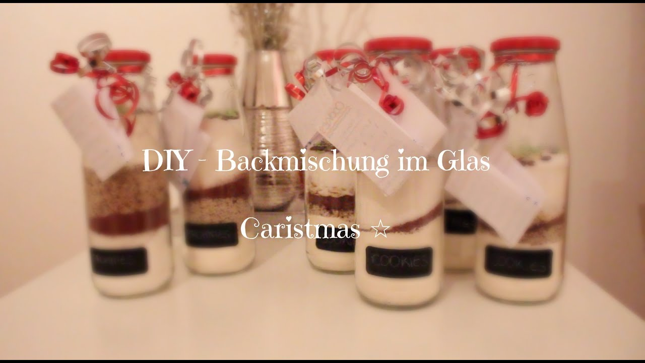 diy weihnachtsgeschenk backmischung im glas ii carisun. Black Bedroom Furniture Sets. Home Design Ideas