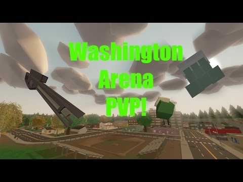 Let's Play Unturned Washington arena | That came out of nowhere!