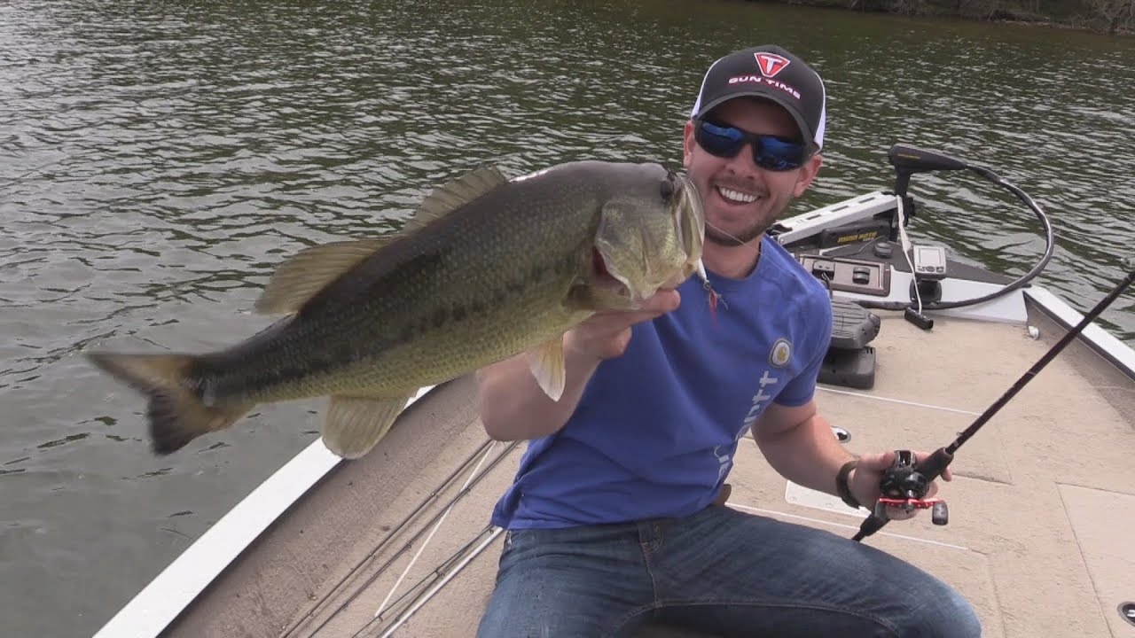 Bass fishing percy priest lake in nashville tennessee for Youtube bass fishing