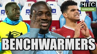 Every premier league club's benchwarmer