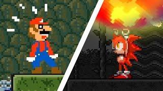Sonic the Hedgehog vs Super Mario Bros
