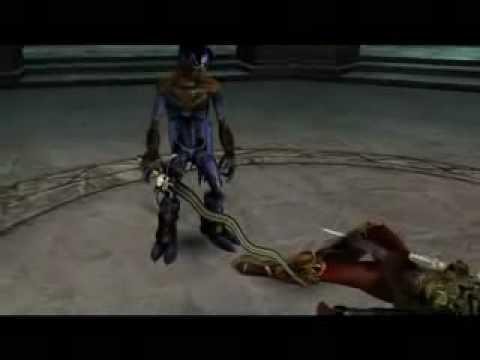 Soul Reaver 2 - Raziel meets his former self  