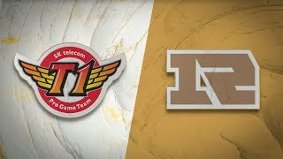 SKT vs RNG - Campeonato Mundial 2019 S2D8P1 - Grupos