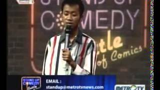 Stand Up Comedy Battle Of Comic Metro TV 05 Maret 2013   Susahnya Sehat part 2 of 3