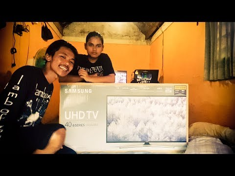 Unboxing Dan First Impressions Samsung UHD TV 40 Inch 6 Series MU6100