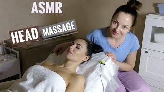 Легкий массаж головы без масла – АСМР массаж
