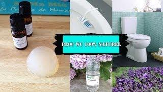 DIY bloc WC 100% naturel facile