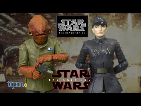 Star Wars: The Black Series Admiral Ackbar & First Order Officer from Hasbro