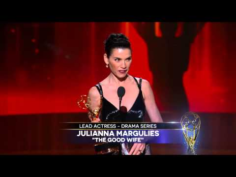 Juliana Margulies Wins for Lead Actress in a Drama Series