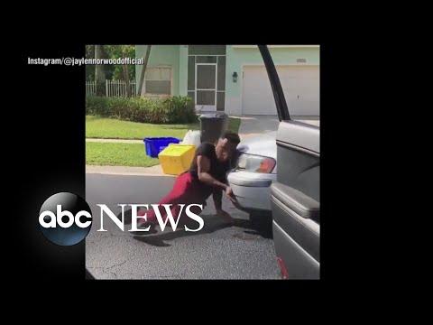 Man hit by car doing #InMyFeelings...