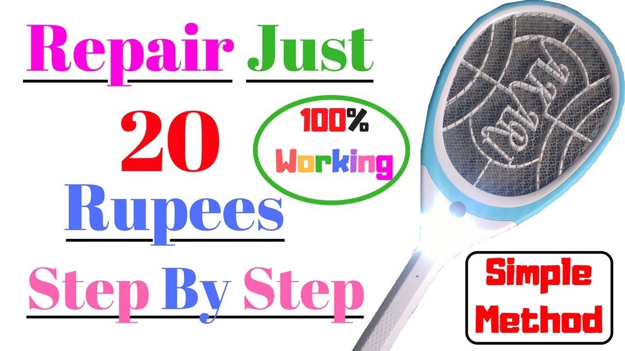 Mosquito Bat Circuit Repair 100% Working At Home