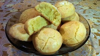 Лимонное Печенье/Быстрое Печенье/Lemon Cookies/Очень Простой Рецепт(Вкусно и Быстро)