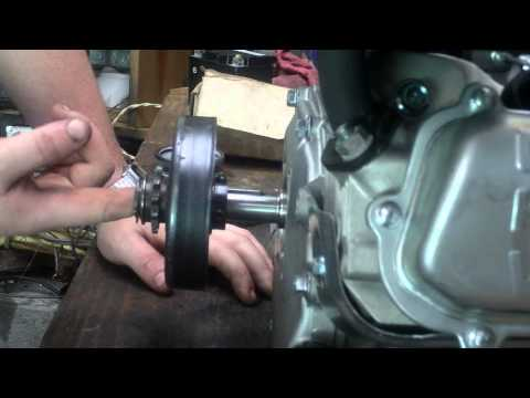 How to install a Centrifugal clutch