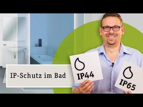 IP Schutz für Licht im Bad - die richtige Wahl der Schutzart