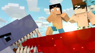 Minecraft: TUBARÃO ASSASSINO! (Mudando de Vida #6)