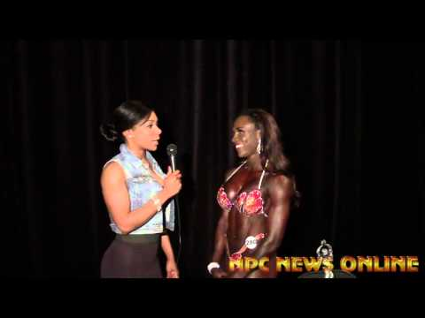 Joan Smith Figure Overall Winner 2015 NPC Jr USA interview with Bianca Berry
