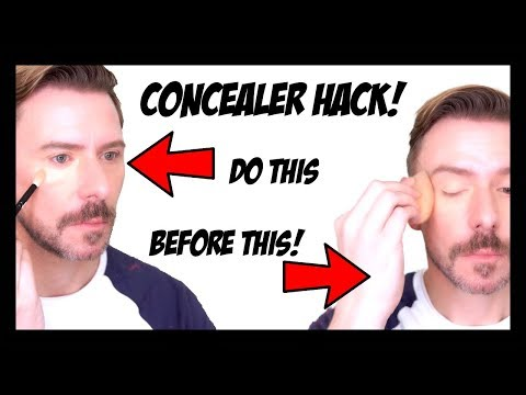 THIS IS THE BEST WAY TO APPLY CONCEALER FLAWLESSLY!