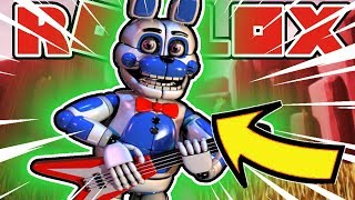 Somethings Are Better Left Forgotten Badge and Becoming Funtime Bonnie in Roblox FNAF Rp
