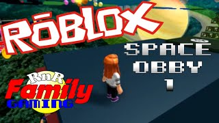 Let's Play Roblox! Space Obby 1