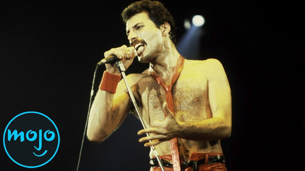 Top 10 Most Iconic Freddie Mercury Looks Youtube