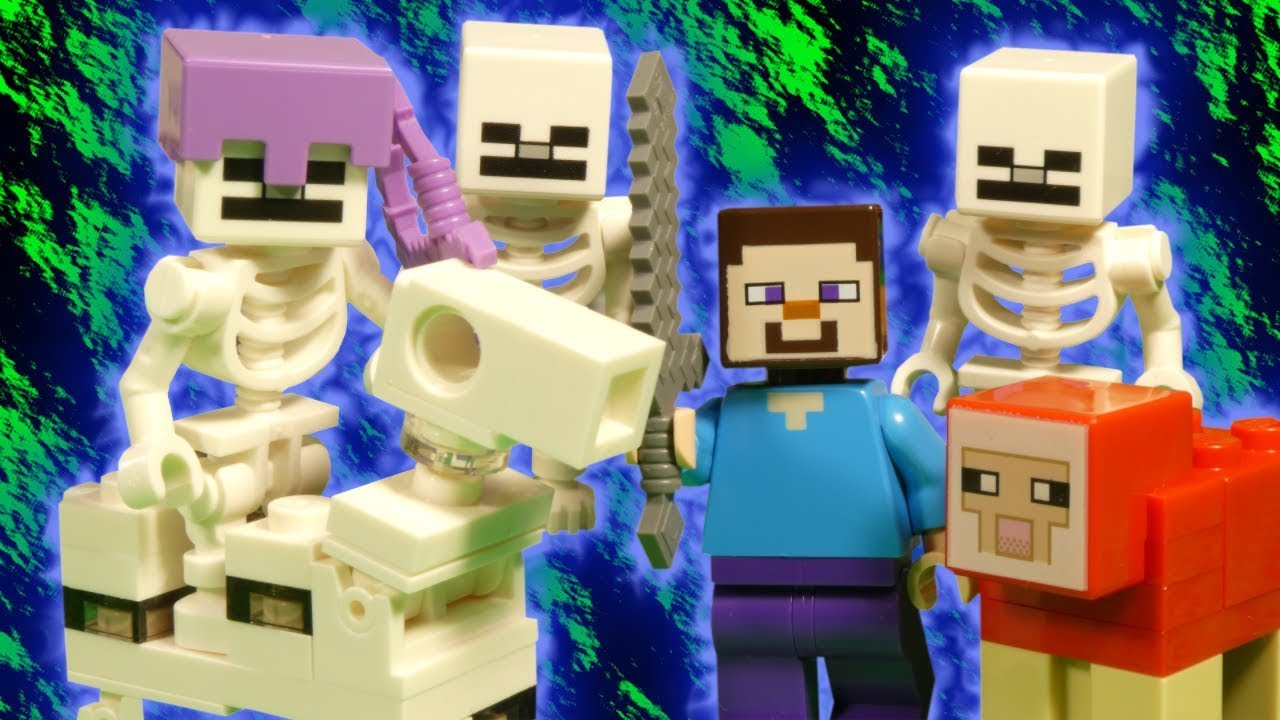 LEGO MINECRAFT - THE SKELETON ATTACK - 21146