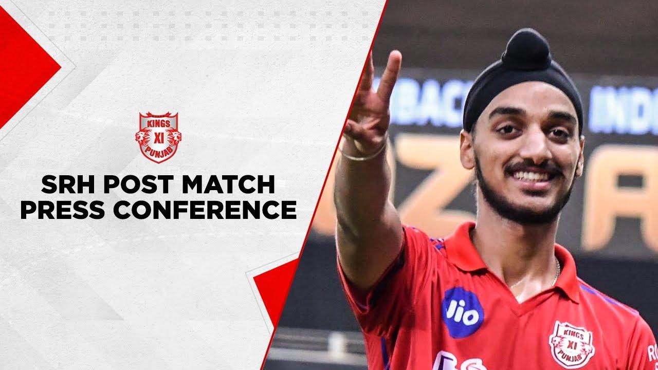 #KXIPvSRH Post Match Press Conference - Arshdeep Singh | Dream 11IPL 2020