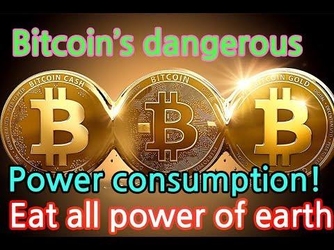 Bitcoin destroys Earth! The power consumption reaches Denmark. By 2020, eat all power of world!