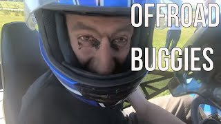4X4 OFF ROAD BUGGIES - Rennie forgets helmets have visors - DRIFTLAND