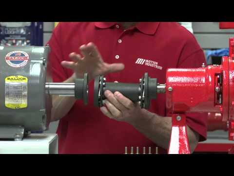 MiHow2 - Rexnord - Thomas XTSR71 Adapter Series Disc Coupling Spacer Installation