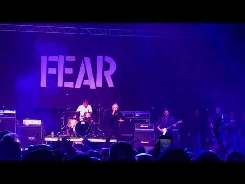 Original FEAR   Let's Have a War @ MUSINK 2018