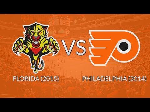 NHL 18 DYT: Round 1 - Florida (2015) vs Philadelphia (2014)