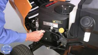 How to Change the Spark Plug on XT Enduro Series Riding Mowers