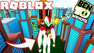 ROBLOX! -BEN 10 THE BIGGEST GIANT ALIEN SUPREME-INCREDIBLE SIMULATOR BEN 10