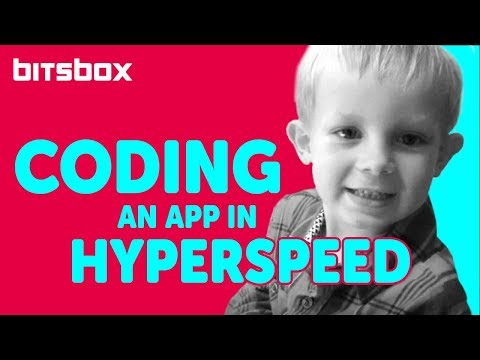 Kids build apps with Bitsbox!