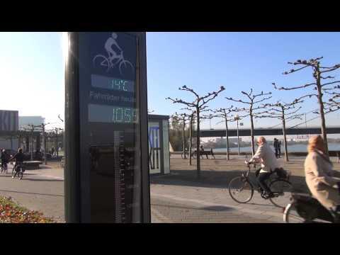 Bike-Counter in Düsseldorf
