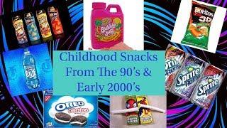 Discontinued Snacks We Miss and Want Back!!!