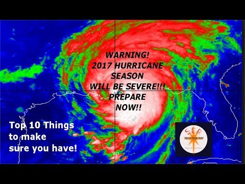 PREPARE FOR HURRICANES 2017 AND AVOID FEMA camps!