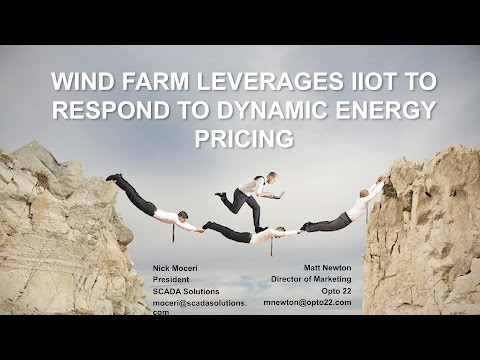 Wind Farm Leverages IIOT to Respond to Dynamic Energy Pricing