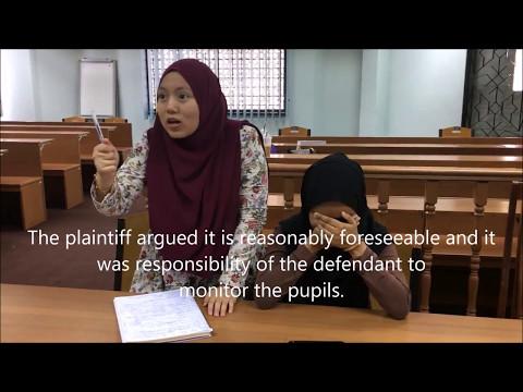 TORTS VIDEO ( CASE OF GOV. OF MALAYSIA V. JUMAT BIN MAHMUD )
