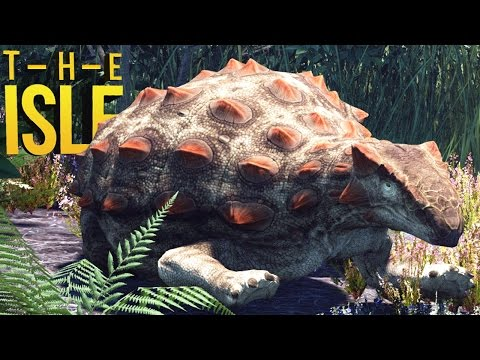 The Isle - Vida De Ankylosaurus, Vida De Herbívoro, Ataque De Spinosaurus| Dinossauro (#114) (PT-BR)