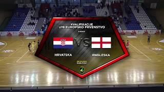 HRVATSKA U-19 vs ENGLESKA U-19 4:0 (2. kolo, skupina 7, kvalifikacije za EP u futsalu 2019.)