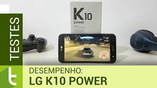 Desempenho LG K10 Power | Teste de velocidade oficial do TudoCelular