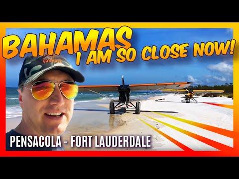 Destination Bahamas Backcountry Flying Travel Vlog 10