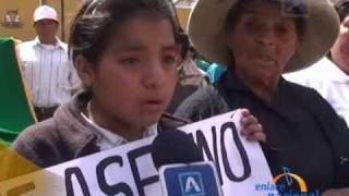 Ronderos marchan en Trujillo por ataque de gerente de mina