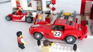 Ferrari 250 GTO from LEGO Ferrari Ultimate Garage 75889 Speed build.