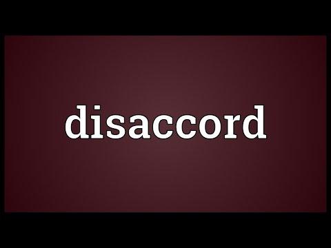 Header of disaccord