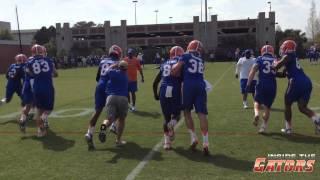 Florida Gators Spring Practice #2 (March 18, 2015)